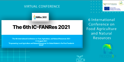 6th International Conference on Food Agriculture and Natural Resources