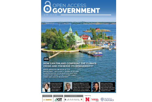 RECOVER on Open Access Government July 2021 pubblication